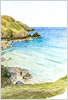 Gaider Cove, prints from watercolour painting by Peter Thwaites