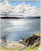Kilchoan, Ardnamurchan, giclee print from watercolour painting by Peter Thwaites