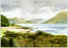 Loch Linnhe, giclee print from watercolour painting by Peter Thwaites