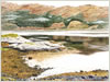 Loch Sunart, giclee print from watercolour painting by Peter Thwaites