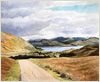 The road to Kingairloch, Ardgour, giclee print from watercolour painting by Peter Thwaites